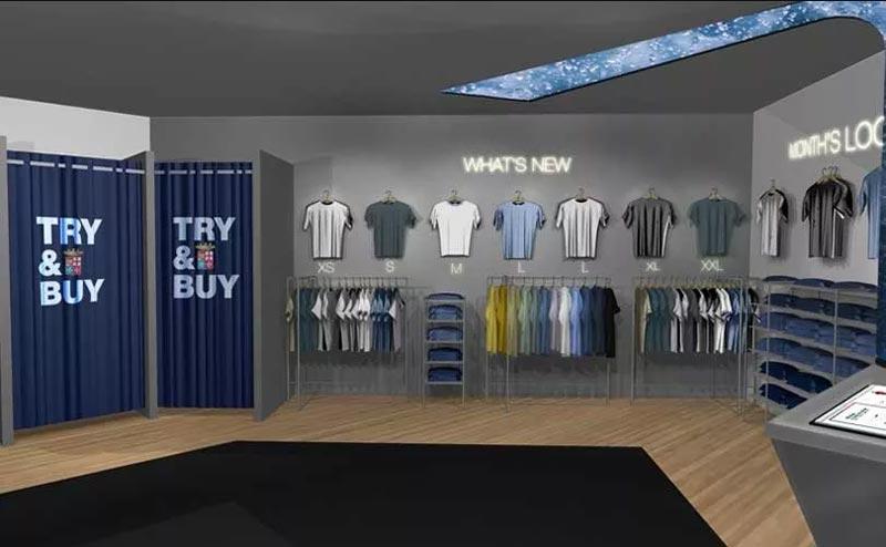 Marina Militare Sportswear progetto virtual store