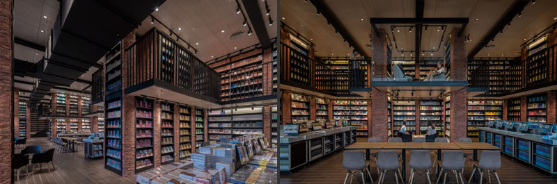 X LIVING libreria Zhongshuge Chengdu Cina