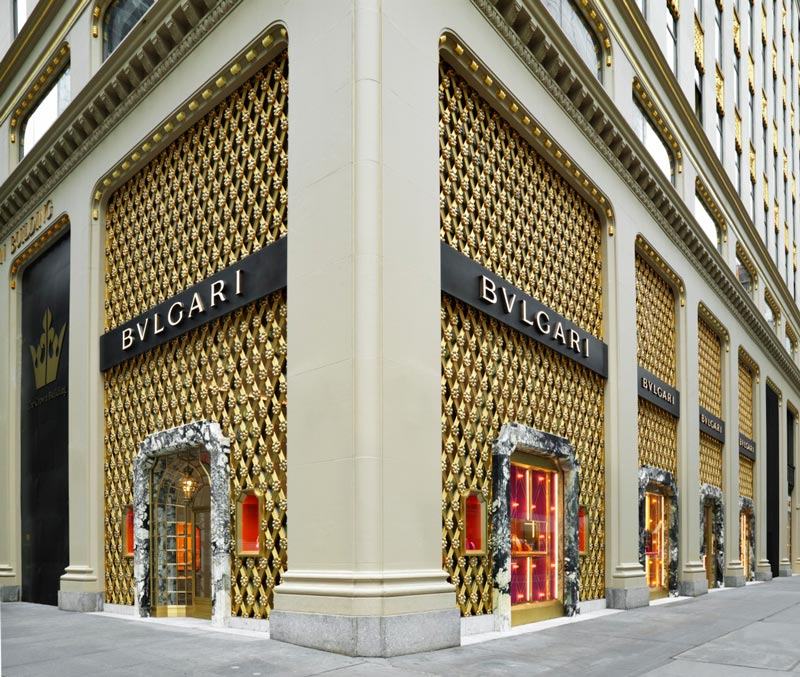 Bulgari flagship store New York design Peter Marino