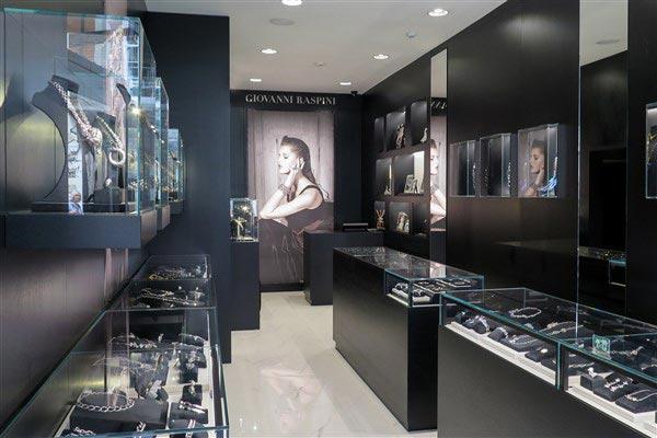 Giovanni Raspini boutique Londra