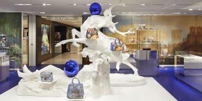 Louis Vuitton personalizza il pop-up store in Rinascente con Jeff Koons