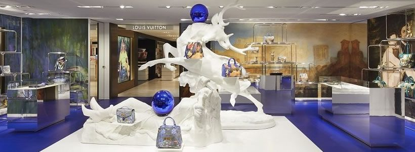 Louis Vuitton personalizza il pop-up store in Rinascente con Jeff Koons