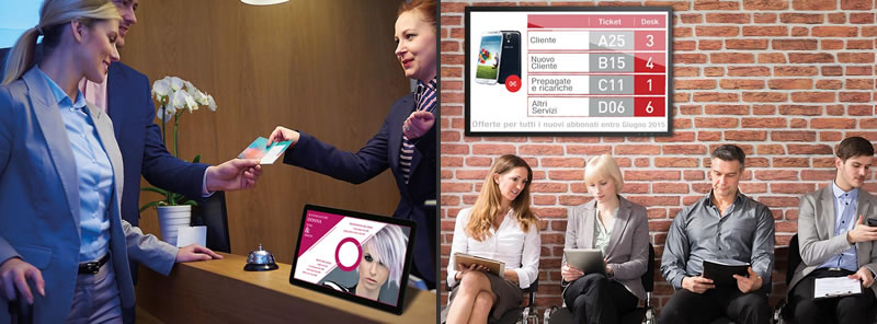 Piattaforme Cloud Ichannel Desk e Smart Queue di IdeaTV