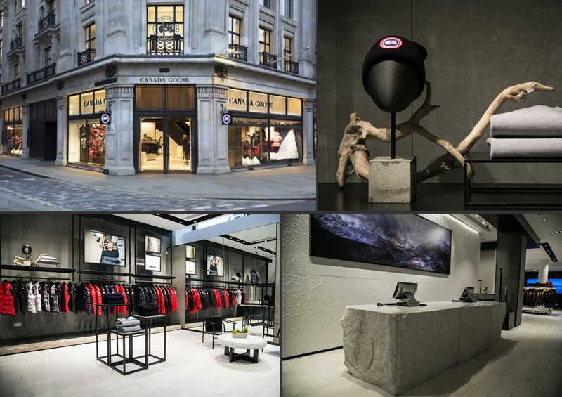 Canada Goose flagship store Londra