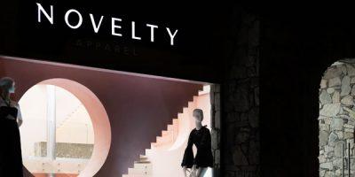 Lo studio Anagrama progetta la boutique Novelty di Monterrey.