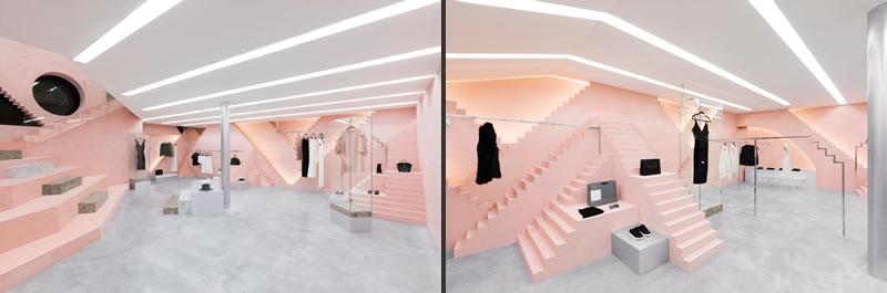 Anagrama progettazione boutique Novelty