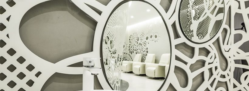 Beijing  Space of Lace Pattern – Lily Nails Salon (Blue Harbor Store)