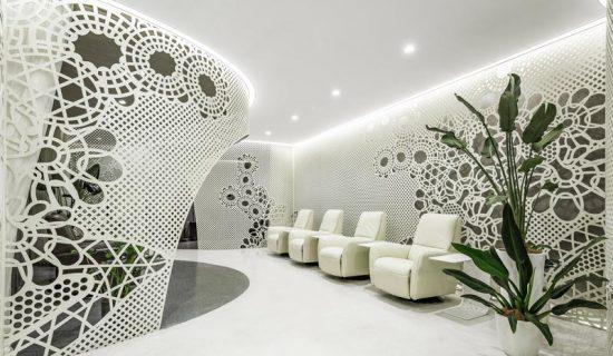 Salone LILY NAILS Pechino.