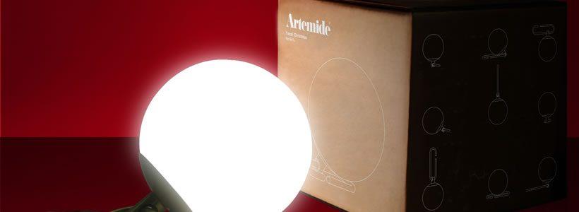 ARTEMIDE presenta la lampada nh1217.