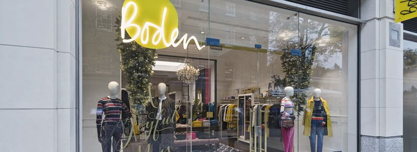 Dalziel & Pow has designed a destination store for Boden at London's Duke of York Square