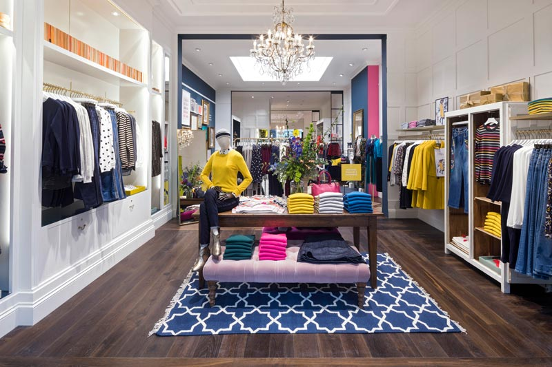 Dalziel and Pow designed Boden store