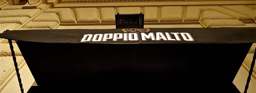 """Visual Display firma il concept di interior e brand design del nuovo """"Doppio Malto – Brew Restaurant"""" Roma Fontana di Trevi."""