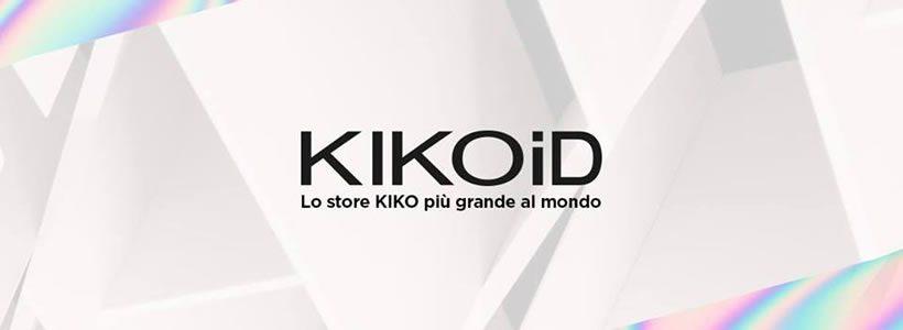 KIKO apre a Milano il primo flagship store KIKOiD, il più grande store KIKO al mondo.