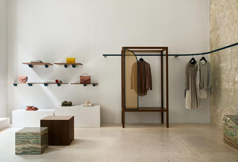 Ambrosia multibrand store Madrid design Matteo Ferrari Ciszak Dalmas