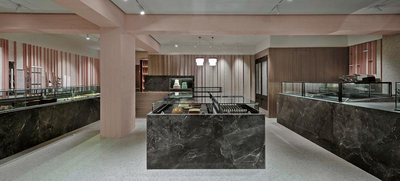 Minas Kosmidis Architect pastry shops interior design
