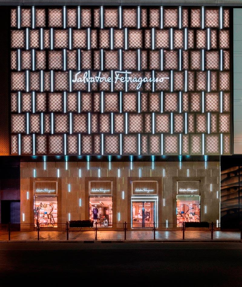 negozi Ferragamo flagship store canton road hong kong