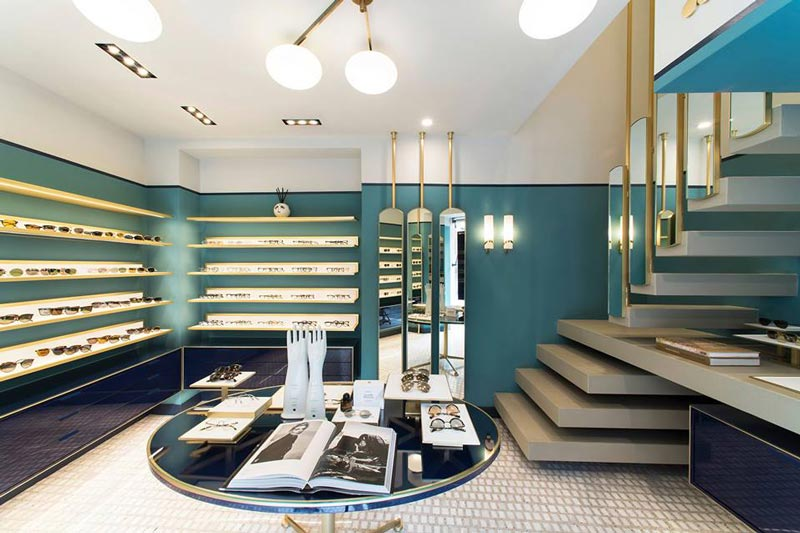 Oliver Peoples boutique Roma
