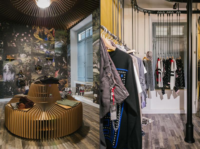 progettazione negozi Est platform sublime fashion store