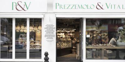 Studio DiDeA firma il progetto del punto vendita Prezzemolo & Vitale a Londra.