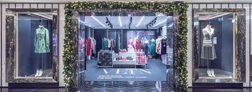 Valentino e i VLTN Pop Up Stores
