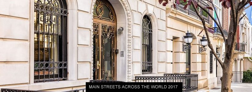 New Bond Street supera Avenue des Champs Élysées e diventa la terza via commerciale più costosa al mondo.