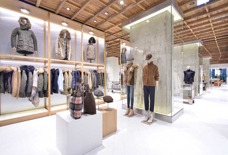 WOOLRICH flagship store Milano