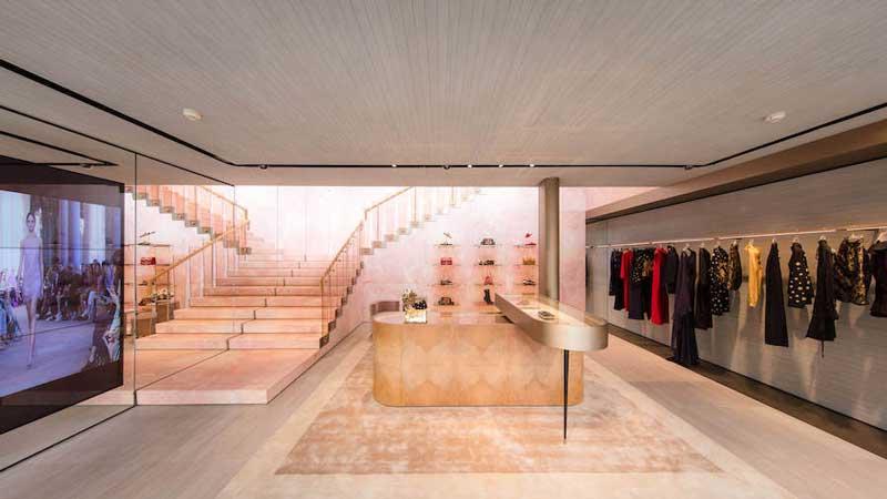 Alberta Ferretti boutique Shanghai Cina