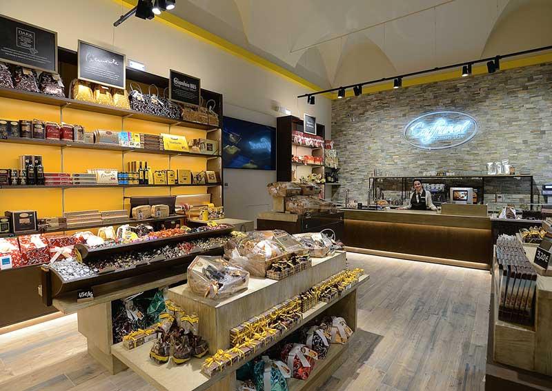 Caffarel store Torino