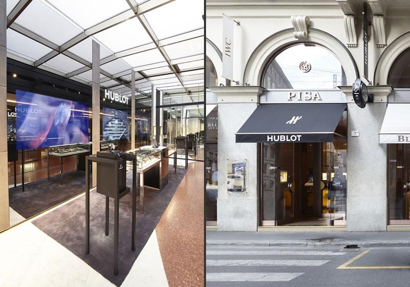 Hublot boutique Milano