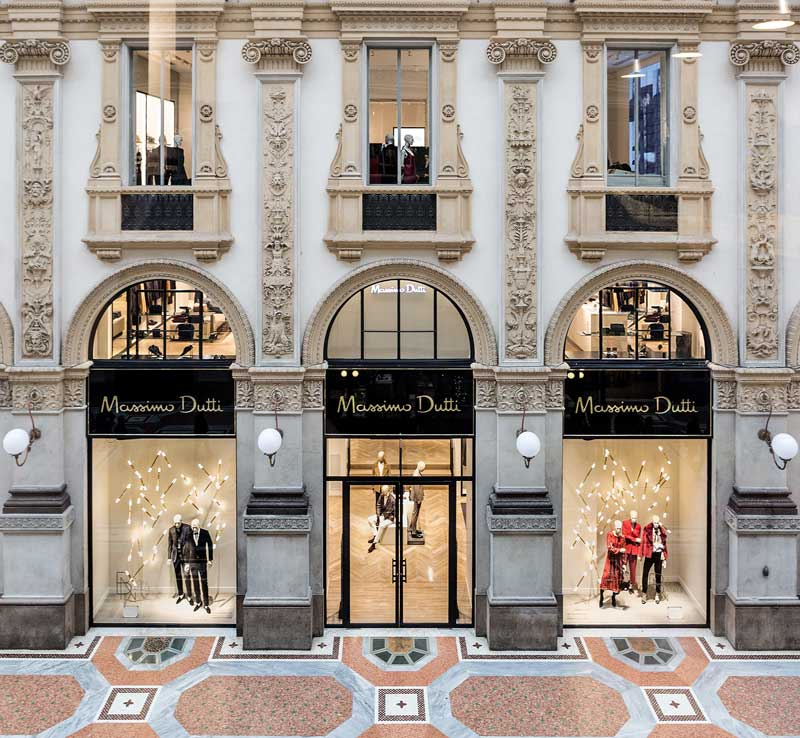 Massimo Dutti flagship store Milano