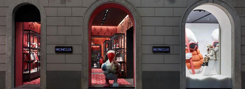 MONCLER ENFANT: a Milano la prima boutique.