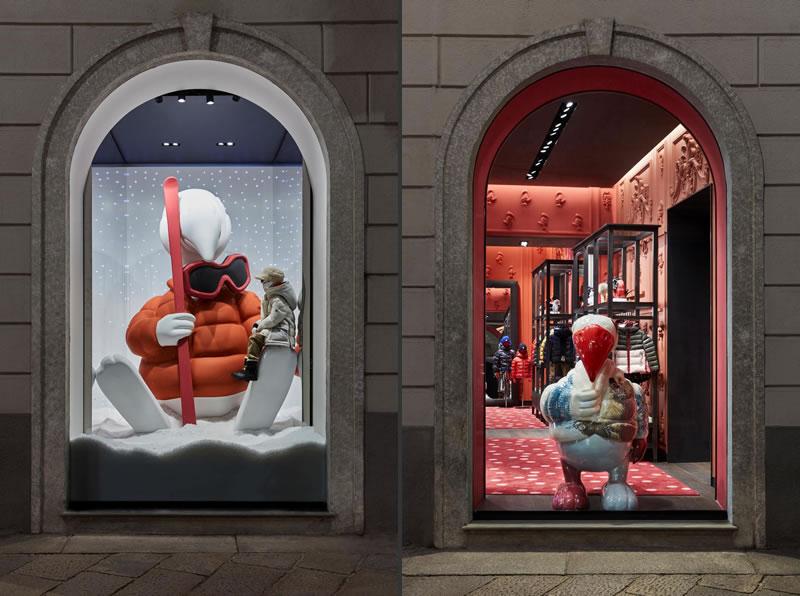 Moncler Enfant boutique Milano