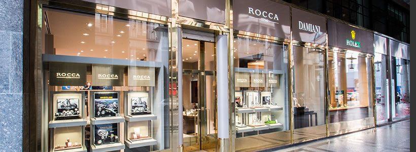 Rocca 1794 riapre, completamente rinnovata, la boutique di Torino.