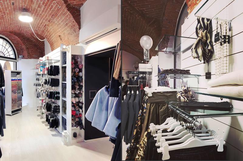 La boutique Valma di Romagnano Sesia, in provincia di Novara, è stata oggetto di un intervento di restyling curato da TERdesign.