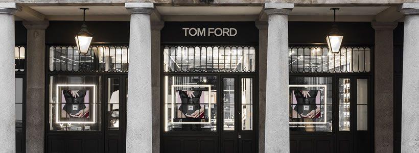 Aperto a Londra il primo Tom Ford Beauty Store.