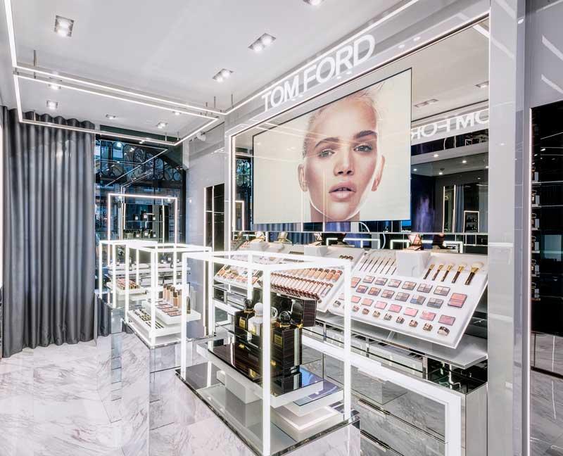 Tom Ford beauty store Londra