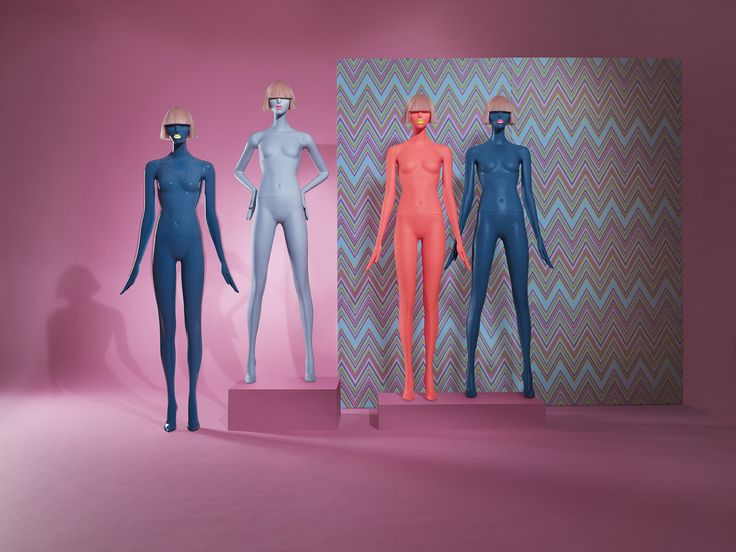 Hans Boodt Mannequins Zoe PopCandy collection