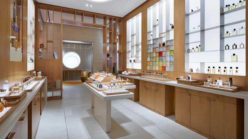 Hermes Dubai boutique profumi