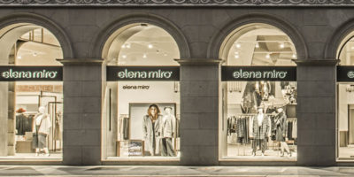 Elena Mirò inaugurates in Milan the first Flagship Store.