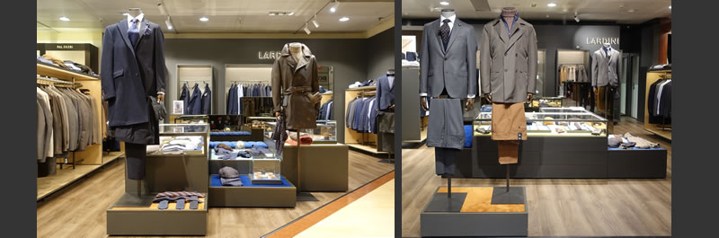 Lardini corner shop El Corte Ingles Madrid