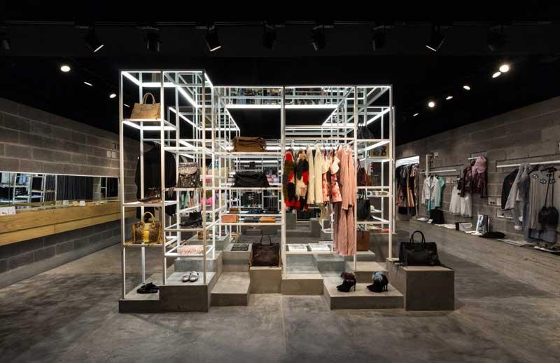 Materia Arquitectura designed Canamiel concept store Mexico City