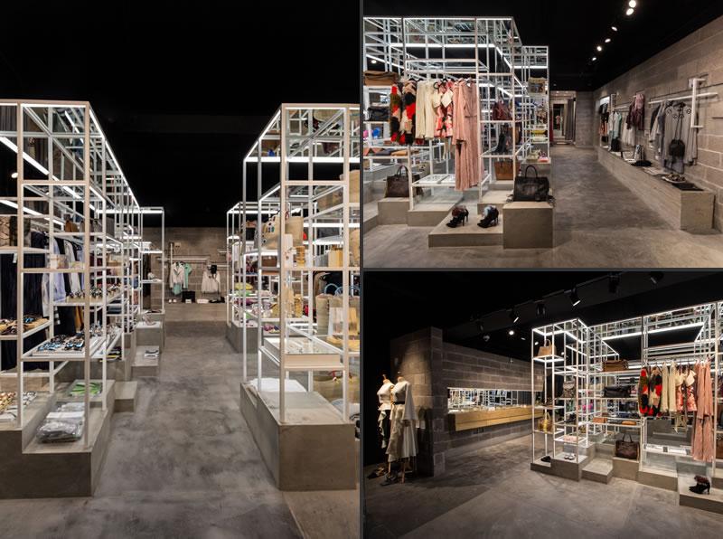 Materia designed Canamiel concept store Mexico City