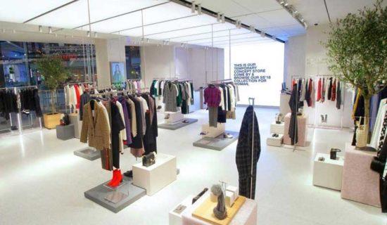 Potrebbe essere il negozio Zara del futuro?
