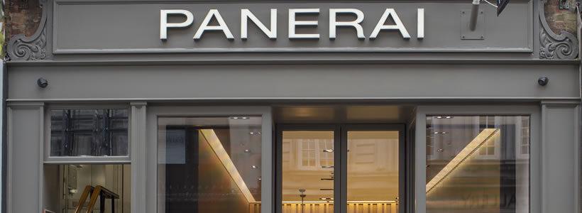 OFFICINE PANERAI inaugura la boutique di Londra.