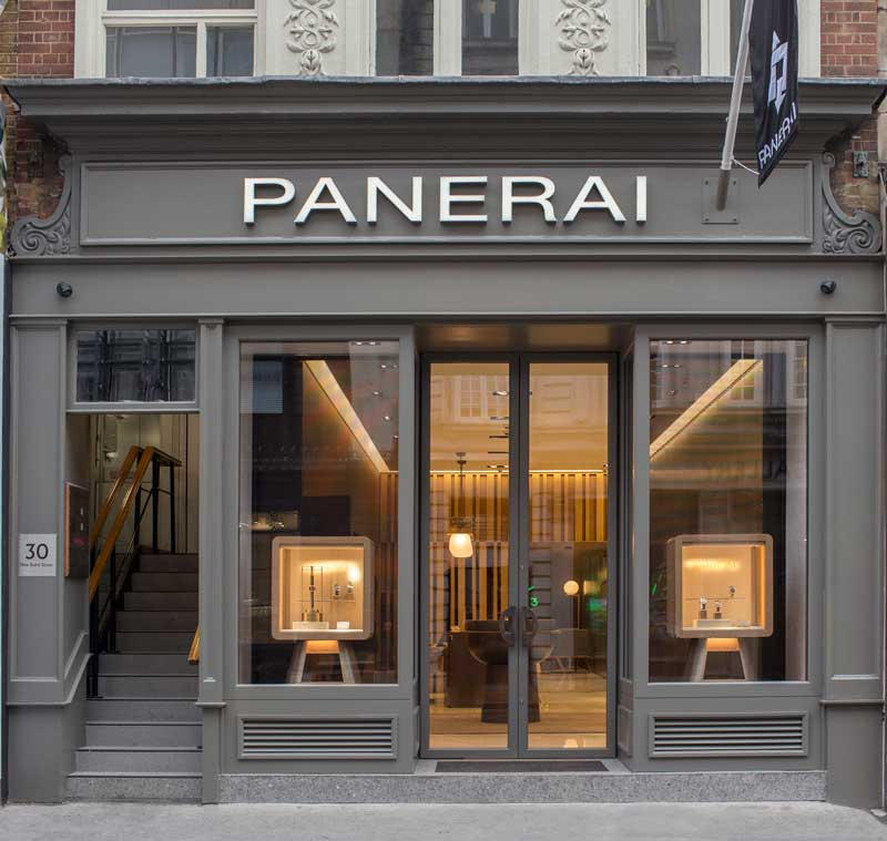 OFFICINE PANERAI boutique Londra