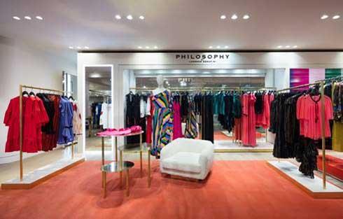 pop up store Philosophy Selfridges Londra