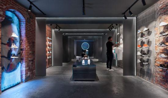 """""""IL SANTUARIO"""", a Boston il meraviglioso concept store  per adidas X CNCPTS"""