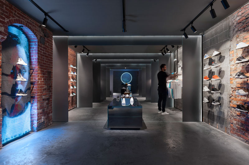 retail design adidas Sid Lee Architecture
