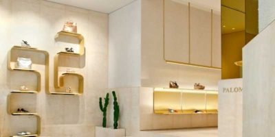 MIDE Architects signs the Paloma Barcelò flagship store.