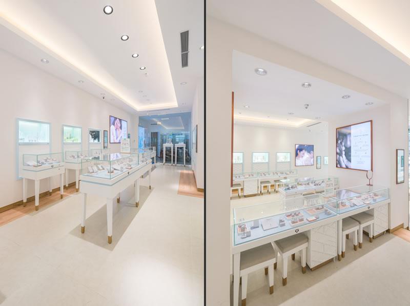 Stefano Tordiglione retail design gioielleria Precita